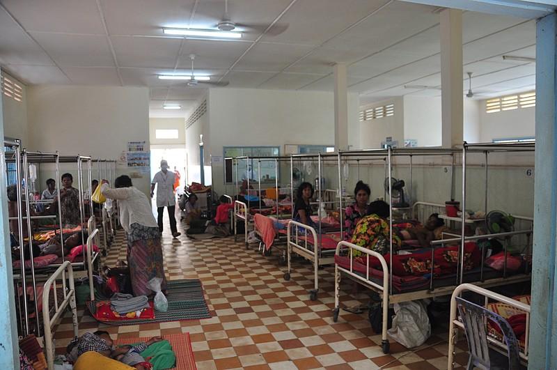 Szpital w który odwiedziliśmy.FOTO : C. Frank Starmer
